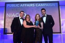NIACRO Wins Gold for Criminal Records Campaign at PR Awards