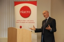 Bob Ashford speaking at NIACRO's AGM on 8 November 2013